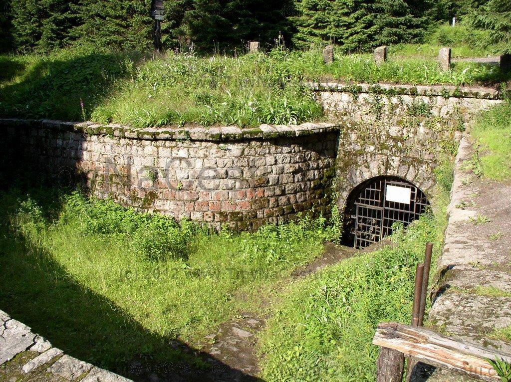 Přehrada Desná tunel