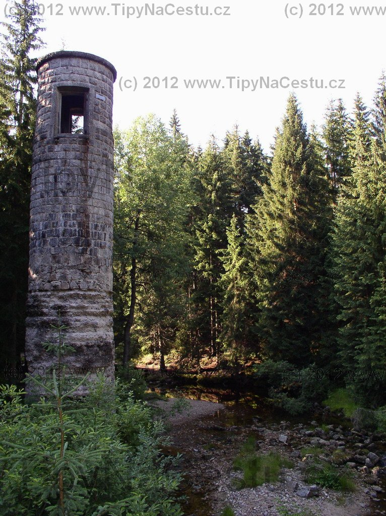 Přehrada Desná věž