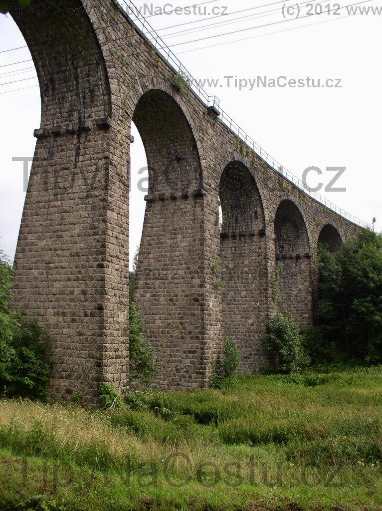Smržovka železniční viadukt